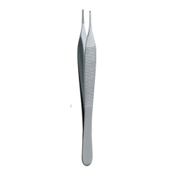 Ongard Lite-Touch Tweezers  Adson Dressing #12cm