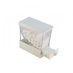 Integra Cotton Roll Holder Deluxe Dispenser White
