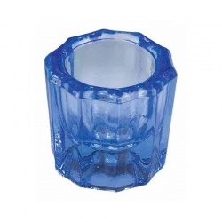 Integra Glass Dappen Dish Blue