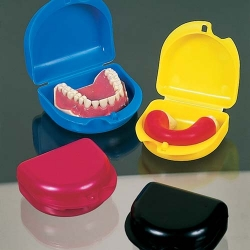 Unident Denture/Mouthguard Box Assorted