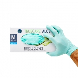 Ongard Truecare Aloe Gloves Nitrile - Click for more info