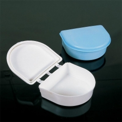 Unident Denture Baths/Case