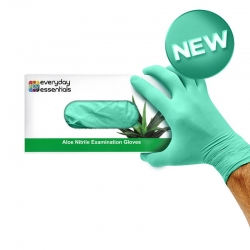 Everyday Essentials Gloves Aloe Nitrile - Click for more info